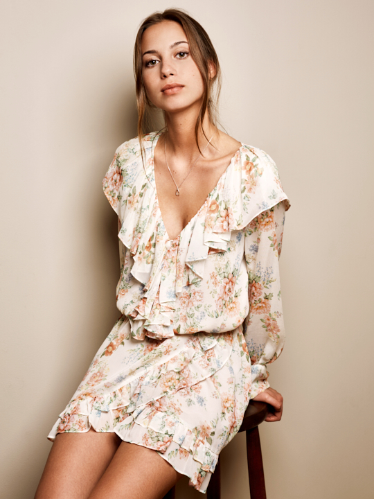 Summer flower dress